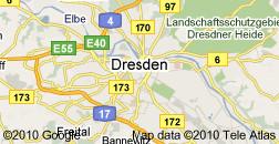 Kartenansicht Dresden