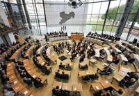 Landtag Innenansicht